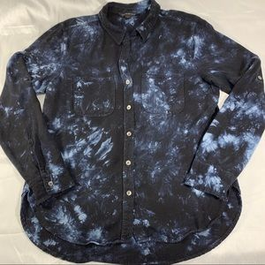 Rock & Republic indigo tye dye chambray top (9)